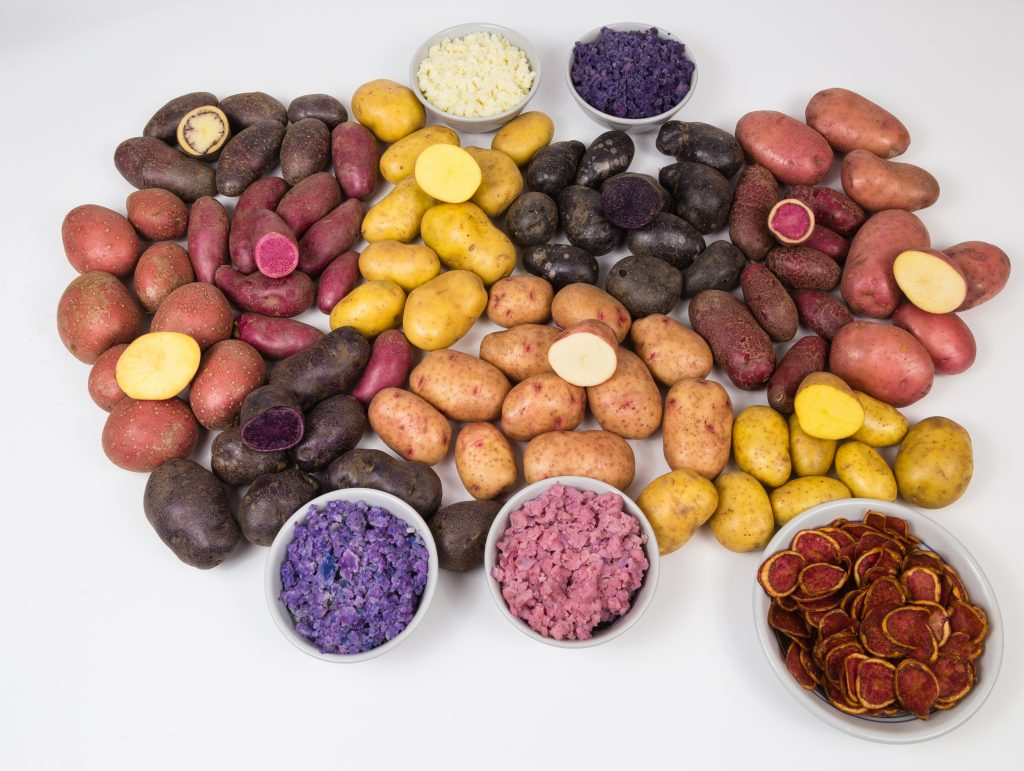 Add colour to your plate with heritage spuds